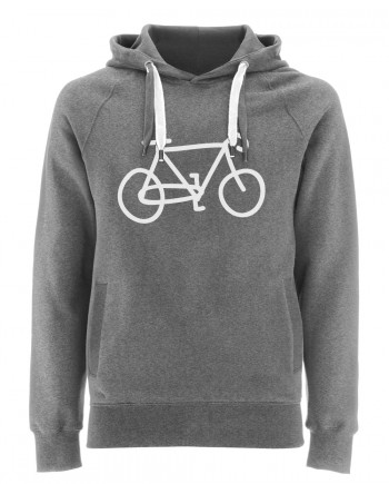 bicycle hoodie_heather