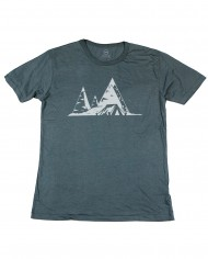 n59 tent in the mountains_charcoal