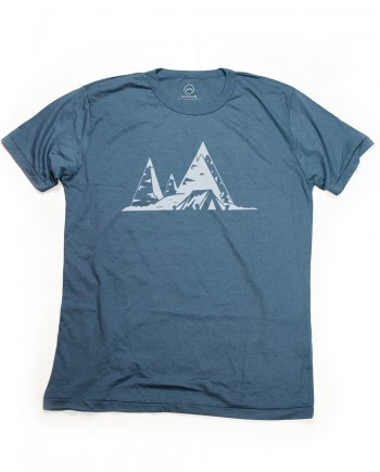 n59 tent in the mountains_denim blue